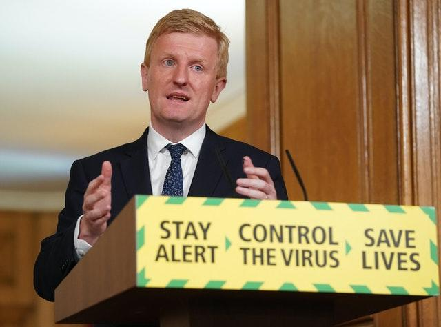 Oliver Dowden gave the Government's briefing on Saturday
