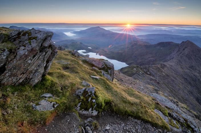 Snowdonia National Park officially reopened on 6 July (Picture: Getty)