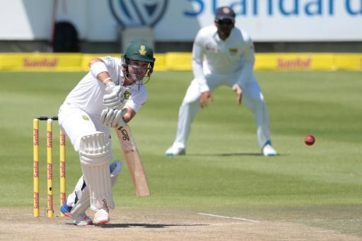 Elgar hits 50 as S. Africa forge ahead in second Sri Lanka Test