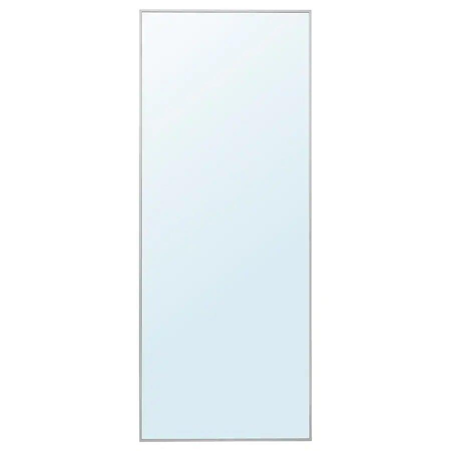 <p>At almost 6.5 feet fall and 2.5 feet wide, the <span>Ikea HOVET Mirror</span> ($129) makes the room feel much larger than it is.</p>