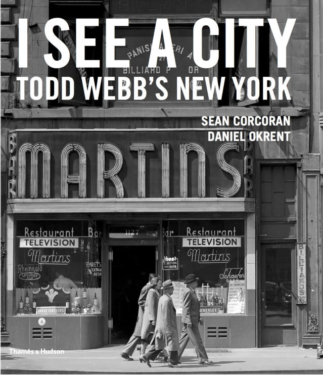 "<p>""I See a City"" book jacket. (© Todd Webb Archive) </p>"