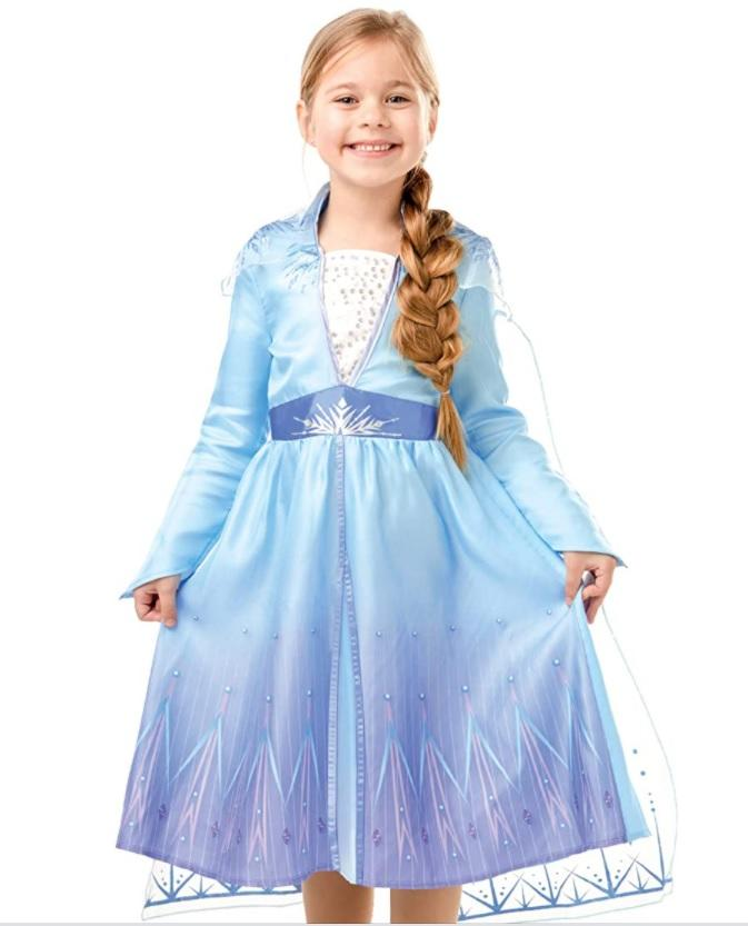 Frozen 2 Classic Costume Elsa Travel multicolore L