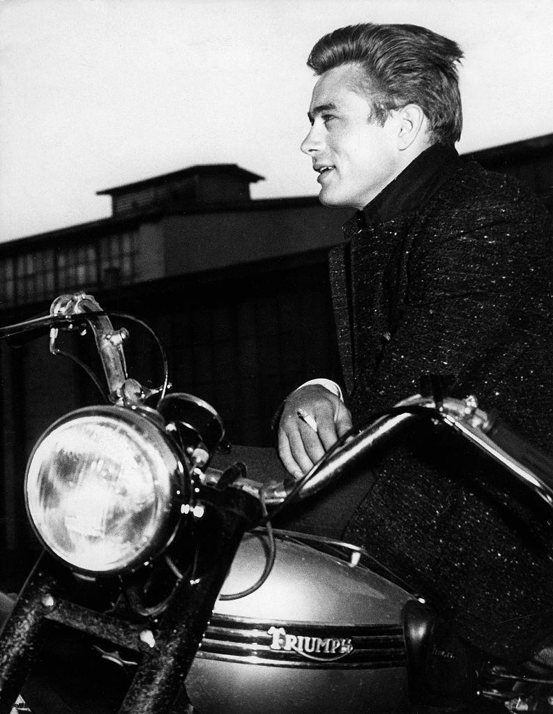 <p>From a young age, Dean had a penchant for fast cars and motorcycles, a hobby that would continue throughout his career. </p>