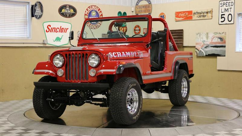 Fully Restored Canyon Red 1985 Jeep CJ-8 Scrambler Is A Keeper
