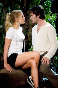 Anna Paquin as Sookie and Stephen Moyer as Bill in 'True Blood'