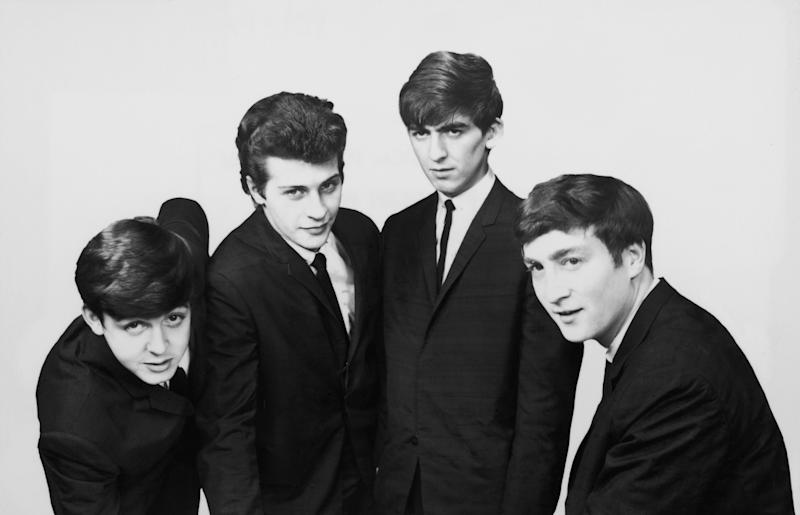 Best (second from left) was the original drummer alongside Paul McCartney, George Harrison and John Lennon. (Photo: Hulton Archive/Getty Images)