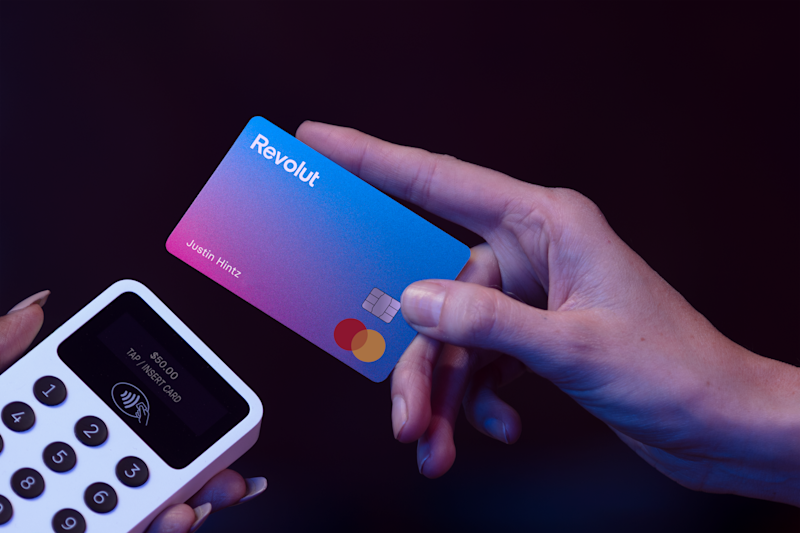 One of Revolut's cards. Photo: Revolut