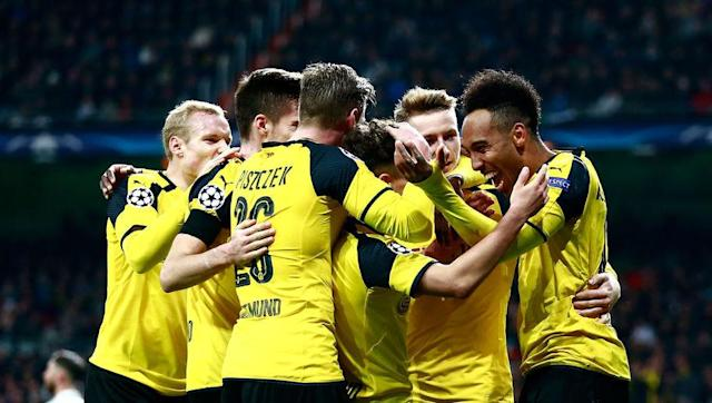 <p><strong>Dortmund have beaten all-time group stages goals record this year</strong></p> <br><p>Though young, Borussia Dortmund's team has got more than enough talent and watching them attacking is a blessing. The combination of Dembélé's youth and arrogance, Aubameyang's pace and finishing and Reus' talent and experience make a deadly cocktail. </p> <br><p>So deadly in fact that Dortmund equalled, with their late equaliser in Bernabeu in the last game of the group stages (2-2), the Champions League's all-time group stages goal record with 21, surpassing Manchester United's 20 in 1998/99. </p> <br><p>It was a record that had already been equalled three times, including by FC Barcelona only 24 hours before Dortmund.</p> <br><p>It was a record-breaking performance they owe to two crazy games against Legia Warsaw: an away 6-0 win on the first game of the group stages and a historic 8-4 home win on week 5. </p>