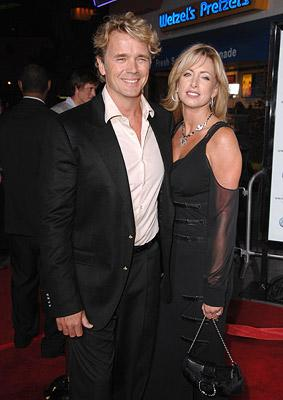 """Premiere: <a href=""""/movie/contributor/1800047433"""">John Schneider</a> and wife at the Universal City premiere of Universal Pictures' <a href=""""/movie/1809426394/info"""">Elizabeth: The Golden Age</a> - 10/01/2007<br>Photo: <a href=""""http://www.wireimage.com"""">Lester Cohen, WireImage.com</a>"""