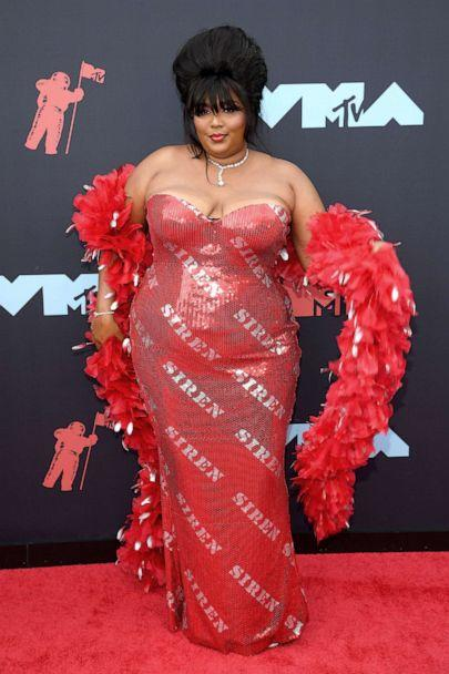PHOTO: Lizzo attends the 2019 MTV Video Music Awards at Prudential Center on Aug. 26, 2019 in Newark, N.J. (Dimitrios Kambouris/Getty Images)
