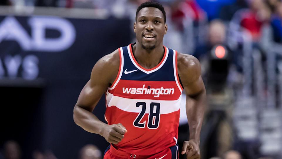 """<p>It's hard to say what they're wizards of in Washington, but it's not finances. Another deal in 2016 that seemed overblown from day one was Ian Mahinmi's.</p> <p>The French player spent seven seasons over eight years with the Spurs, Mavs and Pacers. Now, it's hard to say exactly what about those seven seasons screamed, """"Pay this guy $64 million over the next four years."""" Sure, he averaged nine points and seven boards for the 2015-2016 season, which, along with roughly a block and a steal at 25 minutes per game, seemed to indicate great potential.</p> <p>But that was just one season, and signing a guy to a new deal based on a single season is betting that a lot of things will break your way. Which, of course, they did not. Mahinmi averaged 5.3 points and 4 1/2 rebounds a game while also failing to appear in about 40% of the games played during that time.</p> <p><small>Image Credits: Scott Taetsch / Getty Images</small></p>"""