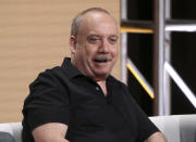 """FILE - Paul Giamatti participates in AMC's """"Lodge 49"""" panel at the Television Critics Association Summer Press Tour on July 25, 2019, in Beverly Hills, Calif. Giamatti turns 54 on June 6.. (Photo by Willy Sanjuan/Invision/AP, File)"""