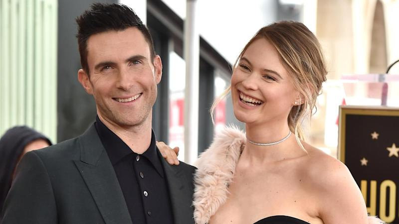 Behati Prinsloo Shares an Adorable Bare Booty Pic of Adam Levine and Daughter Dusty