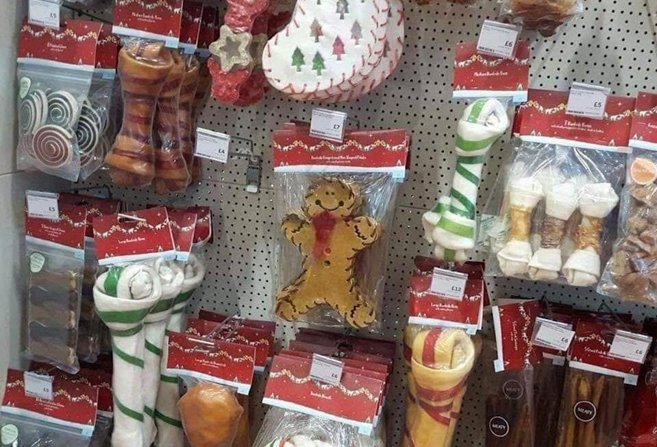 Southeast Queensland animal rescue Happy Tails is warning shoppers not to buy cheap dog treats ahead of the holidays because they could make their pets sick. Source: Facebook/ Happy Tails