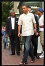 """Photo by: Martin Simon/ Getty Images<br>Mandals: Man + style = men's fashion math for beginners-<br>As men's fashion <a href=""""http://shine.yahoo.com/channel/beauty/six-weird-fashion-trends-that-prove-men-are-the-new-women-2245141"""" data-ylk=""""slk:verges into unknown territory,"""" class=""""link rapid-noclick-resp"""">verges into unknown territory,</a> we've had to invent new words. The general equation is as follows: Man + women's fashion = new outrageous male product. After almost a decade of these hybrid terms, editors of the Oxford English Dictionary are finally taking note. <a href=""""http://online.wsj.com/article/SB10001424053111904900904576554380686494012.html?mod=WSJ_LifeStyle_Lifestyle_5#articleTabs%3Dslideshow"""" rel=""""nofollow noopener"""" target=""""_blank"""" data-ylk=""""slk:The Wall Street Journal"""" class=""""link rapid-noclick-resp"""">The Wall Street Journal</a> reports that the people with the power to make """"bootylicious"""" part of the English language are now considering those confounding men's fashion contractions for their next edition. It being Fashion Week and all, it's a good time brush up on your man style-speak. <br> <br> For starters, mandals. Blame Birkenstocks and the band Phish for the rise of the man sandal. Because men's fashion isn't nearly as fickle as women's we've been subjected to nearly twenty summers of men's hairy toes, and trickle-up economy of leather straps that start, and hopefully stop, with the commander-in-chief."""