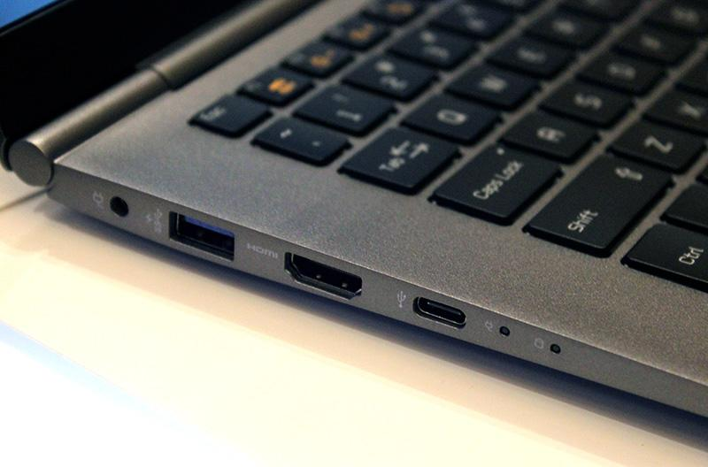 Despite being more compact, the gram 14 sports full-size USB and HDMI ports.