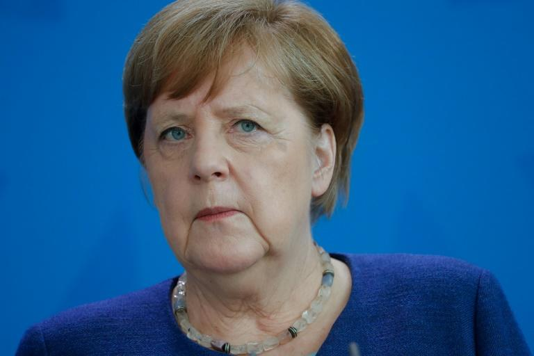 The government of Angela Merkel, who is pictured May 20, had been embroiled in disagreements with Germany's least-affected states