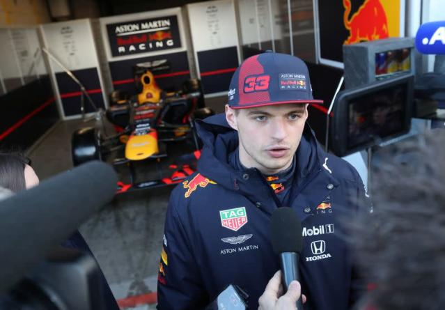 FILE PHOTO: Max Verstappen to set first lap time on revamped Zandvoort Circuit