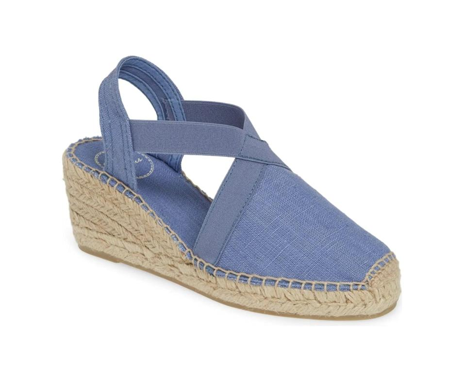 <p>This <span>Tonis Pons 'Ter' Slingback Espadrille Sandal</span> ($110) packs plenty of ease and refined style.</p>