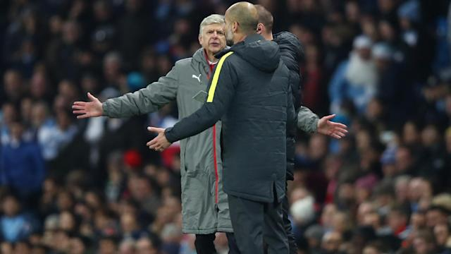 Manchester City manager Pep Guardiola has not raised the bar in football, according to Arsene Wenger.