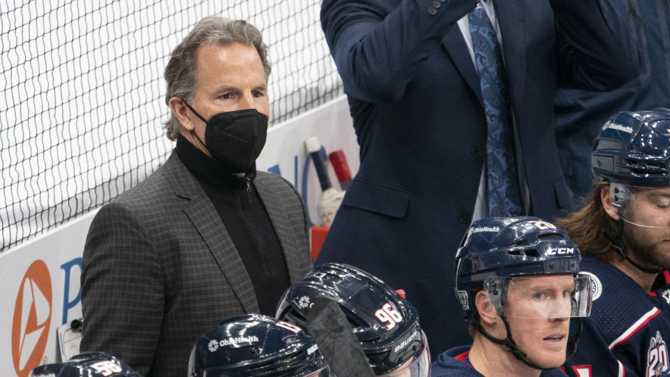 John Tortorella isn't going anywhere, for now. (Photo by Jason Mowry/Icon Sportswire via Getty Images)