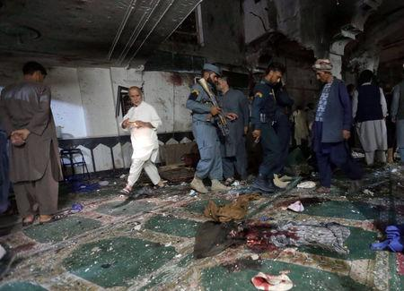 At least 20 killed in Afghanistan mosque explosion