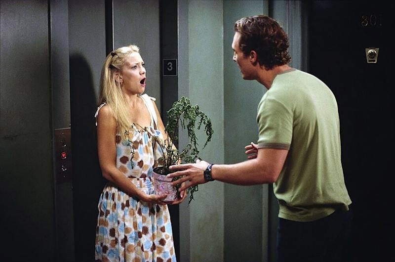 Kate Hudson, Matthew McConaughey inHow to Lose A Guy in 10 Days | Paramount/courtesy Everett Collection
