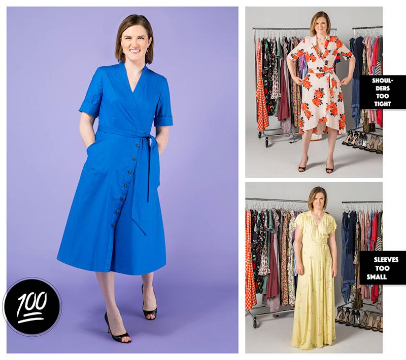 48c16023e5e Is the Wrap Dress Universally Flattering  Real Women Put It to the Test