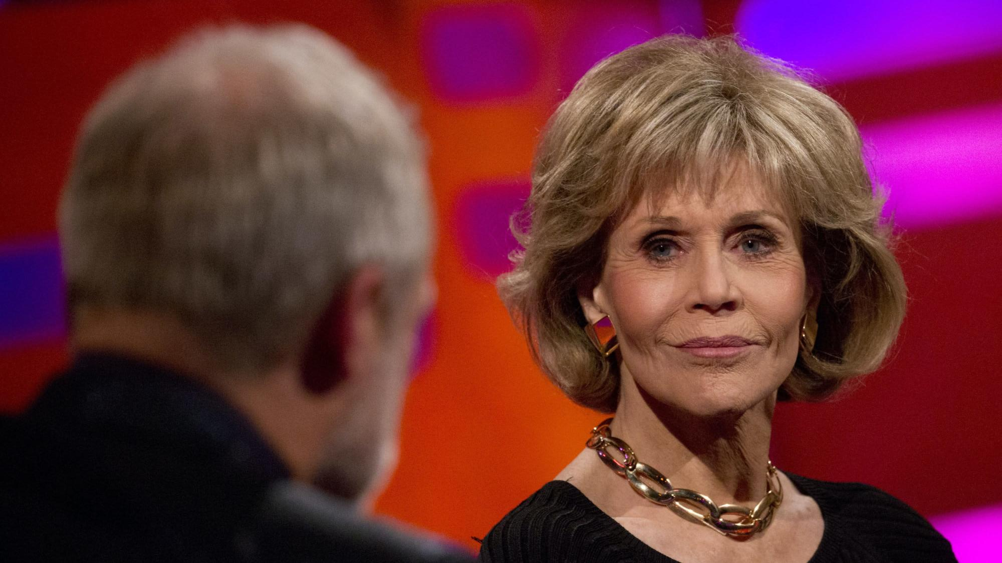 Jane Fonda: I hope my climate protests show old folks can be involved too