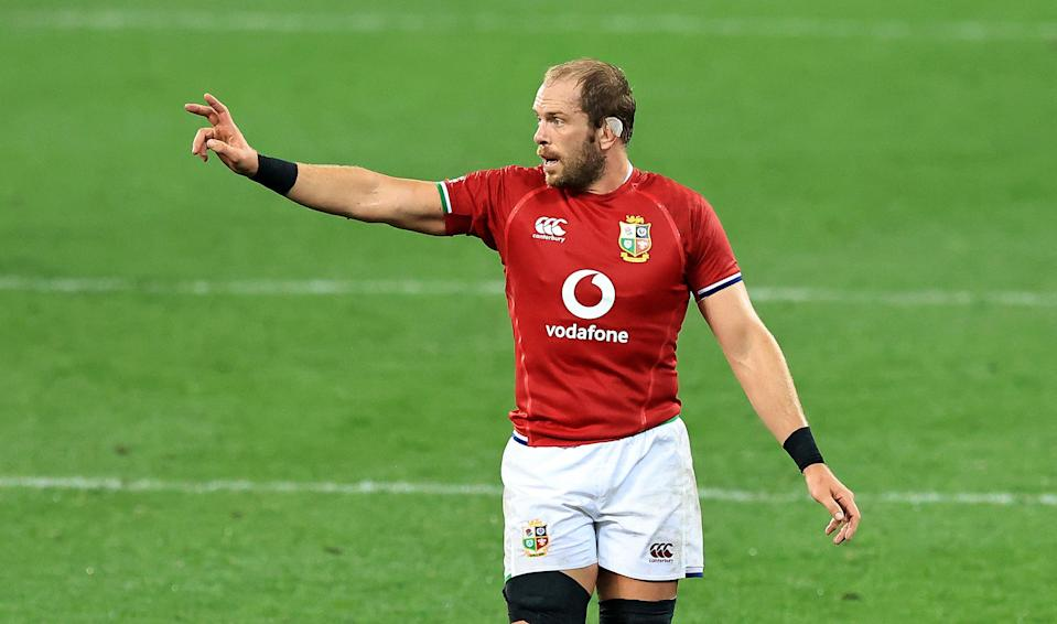 Alun Wyn Jones is back to lead the team for the first Test (Getty Images)