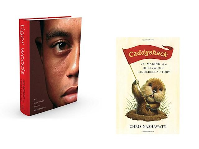 "<p>Give dad something interesting to page through—these picks he won't be able to put down. The first, <em>Tiger Woods</em> by Jeff Benedict and Armen Keteyian is the product of hundreds of interviews and hours of reporting that came together to create one of the most exhaustive biographies about the golf star. The book provides a fresh take on the Woods' tumultuous career and will give you a new appreciation for golf's most scrutinized figure.</p> <p>The second, Chris Nashawaty's <em>Caddyshack: The making of a Hollywood Cinderella Story</em> will also give you an inside look into a golf legend—Caddyshack. You won't believe the stories Nashawaty uncovered about the iconic film, like how the infamous ""Cinderella story"" monologue was almost entirely improvised. The book reveals how cast drama, drugs and script chaos almost ruined the movie before it was released, a can't miss book for this summer.</p> <p><strong><a href=""https://www.amazon.com/Tiger-Woods-Jeff-Benedict/dp/1501126423/ref=zg_bsnr_tab_pd_bs_3?_encoding=UTF8&psc=1&refRID=YV8J2CKKHHJ3CJQNVX9A%29%7B:%20"" rel=""nofollow noopener"" target=""_blank"" data-ylk=""slk:Tiger Woods"" class=""link rapid-noclick-resp"">Tiger Woods</a></strong> by Jeff Benedict and Armen Keteyian<br> <em><a href=""https://www.amazon.com/Caddyshack-Making-Hollywood-Cinderella-Story/dp/1250105951"" rel=""nofollow noopener"" target=""_blank"" data-ylk=""slk:Caddyshack: The Making of a Hollywood Cinderella Story"" class=""link rapid-noclick-resp""><strong>Caddyshack: The Making of a Hollywood Cinderella Story</strong></a></em> by Chris Nashawaty</p>"
