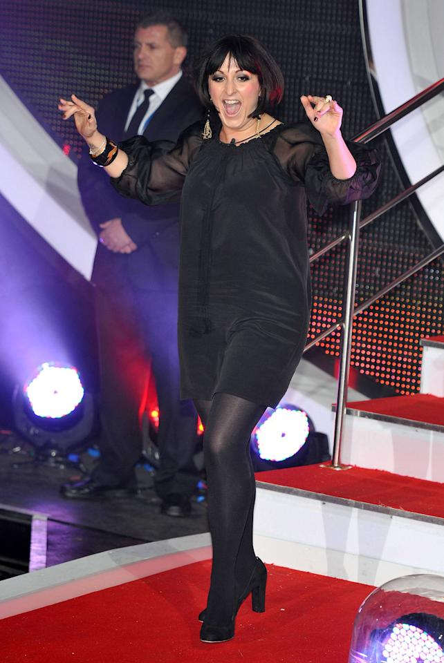 Natalie Cassidy  C5's Celebrity Big Brother - second series starts at Elstree Studios.  London, England - 05.01.12 Mandatory Credit: Daniel Deme/WENN.com
