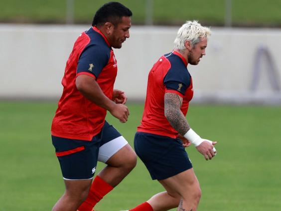 Vunipola and Nowell have trained on their own for the last two months to recover from injury (Getty)