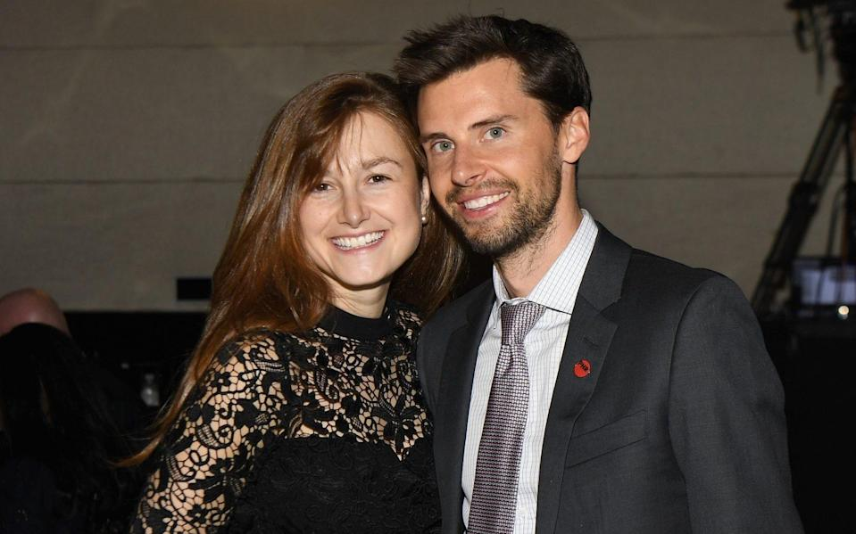 Kate McLeod and Justin McLeod attend the Physicians for Human Rights 2018 Gala on May 2, 2018 in New York City - Dave Kotinsky/Getty