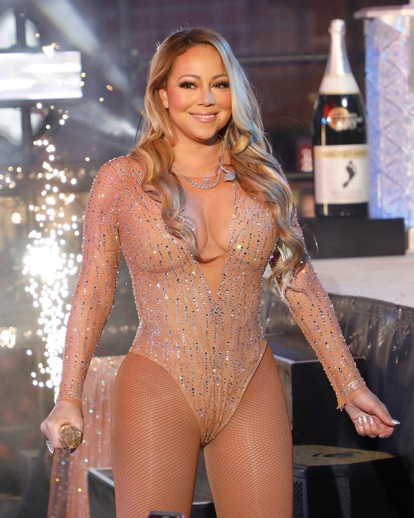 Mariah Carey was just one of many high-profile performers at the high-end extravaganza. (Photo: Getty)