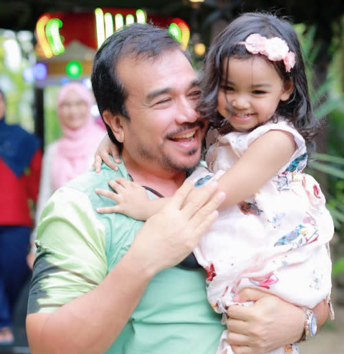 Datuk K is elated over news of the baby's safe arrival