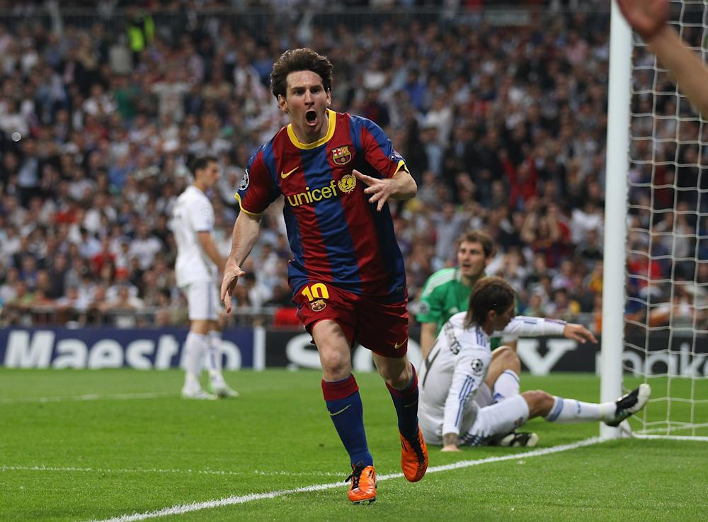 Lionel Messi Real Madrid 27042011