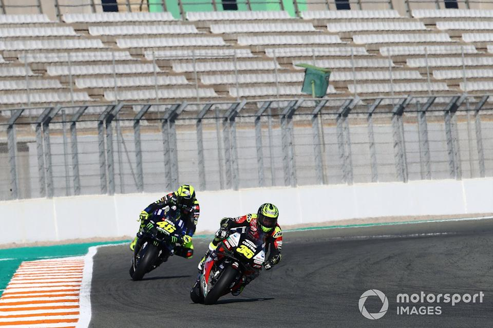 "Cal Crutchlow, Team LCR Honda Valentino Rossi, Yamaha Factory Racing<span class=""copyright"">Gold and Goose / Motorsport Images</span>"
