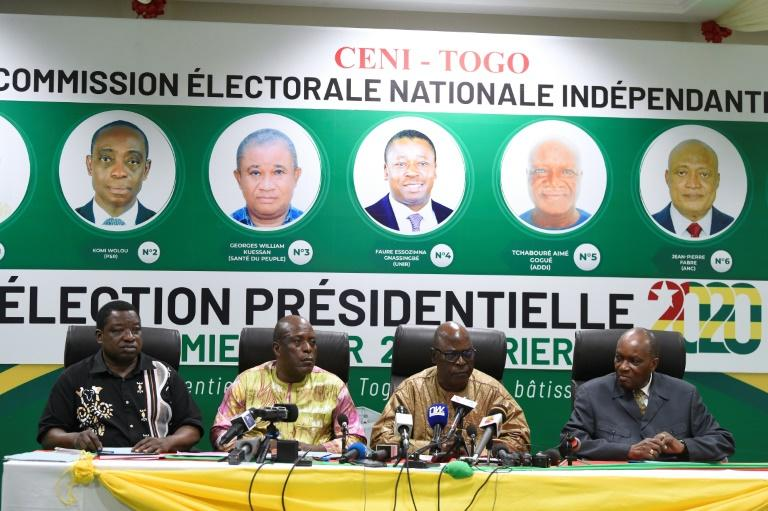 Togo's Independent National Electoral Commission announced election results overnight (AFP Photo/PIUS UTOMI EKPEI)