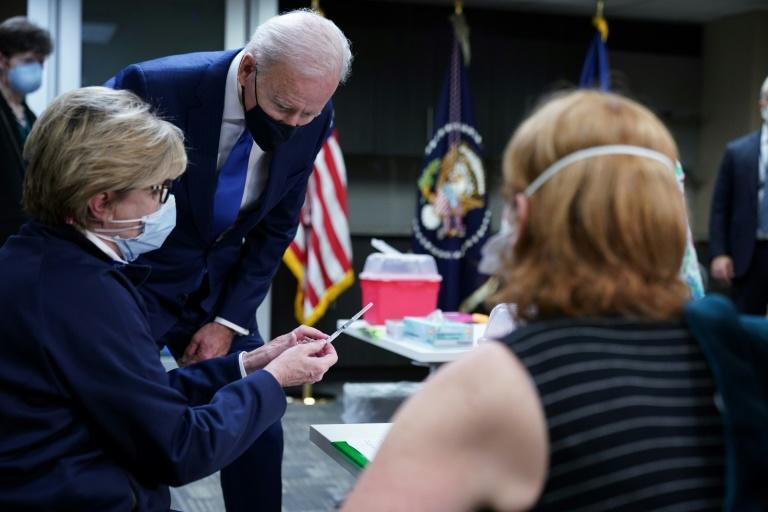 US President Joe Biden's $1.9 trillion rescue plan and the ramp up in vaccinations will 'turbocharge' the American economic recovery