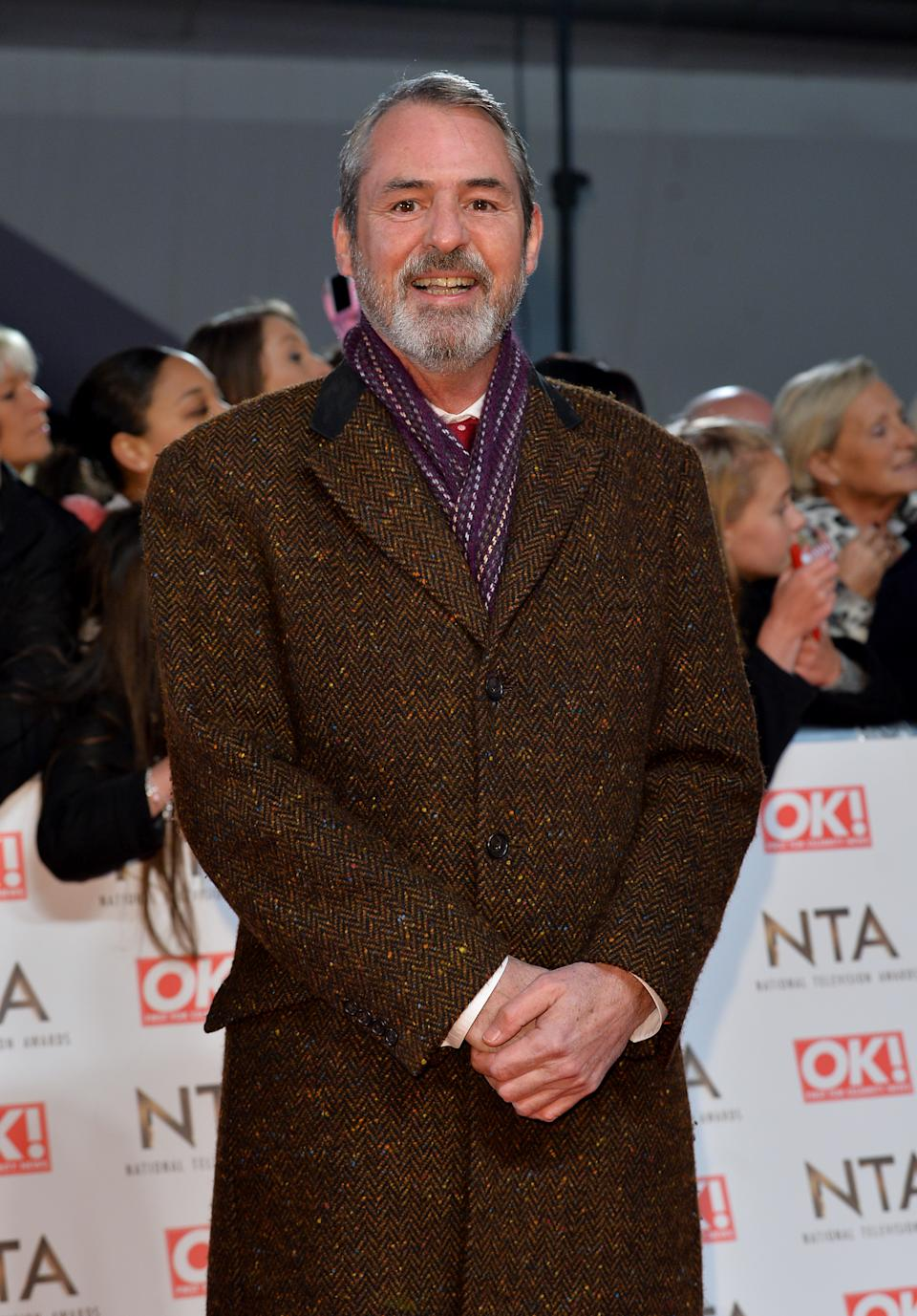 Neil Morrissey attending the National Television Awards 2017 at the O2, London. (Photo by Matt Crossick/PA Images via Getty Images)