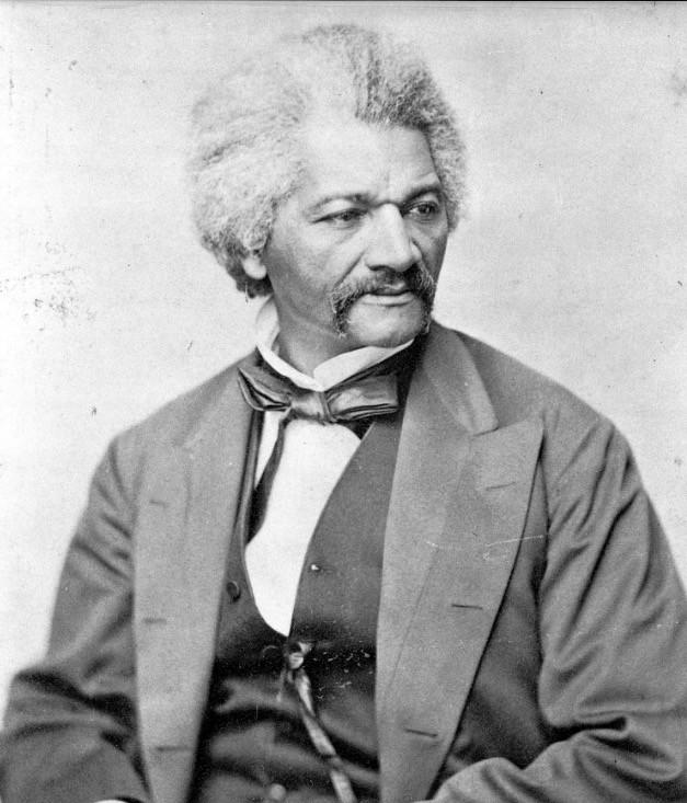 """Frederick Douglass in 1870. Photo from Library of Congress <span class=""""copyright"""">(Schreiber)</span>"""