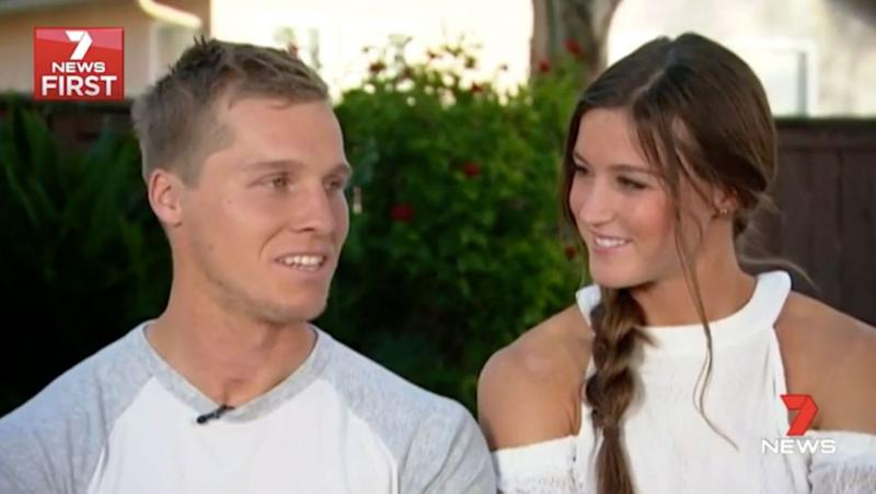 Sam is now focusing on training Alise, but wants to resume his own career. Source: 7 News