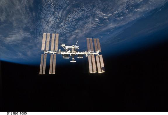 Visit the International Space Station in Google Street View