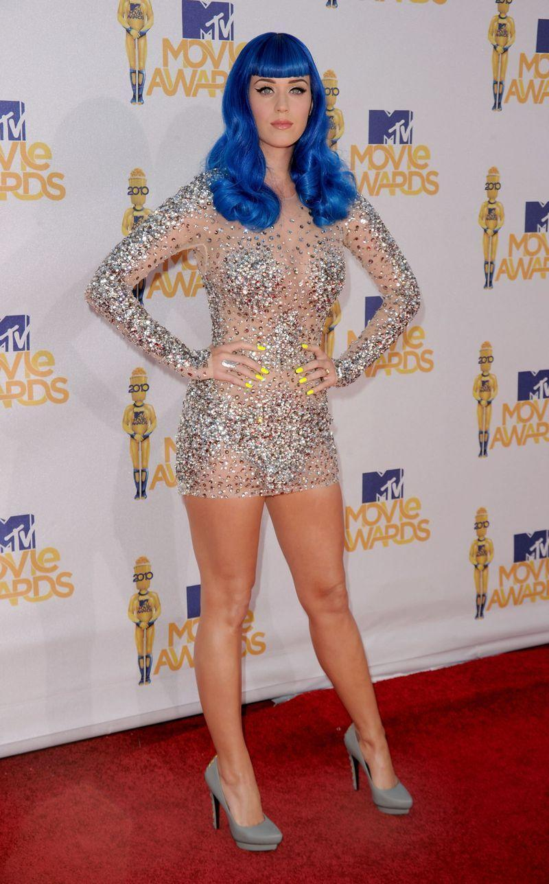 """<p>How about the bedazzled Zuhair Murad mini naked dress that Katy Perry wore at the <a href=""""https://www.cosmopolitan.com/uk/fashion/celebrity/g2693/katy-perrys-best-outfits-ever-photos/?slide=27"""" rel=""""nofollow noopener"""" target=""""_blank"""" data-ylk=""""slk:2010 MTV Movie Awards"""" class=""""link rapid-noclick-resp"""">2010 MTV Movie Awards</a>?<br></p>"""