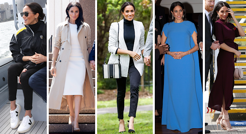 The five outfits we think Meghan has packed for the latest royal tour [Photos: Getty]
