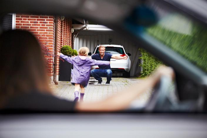 There was some confusion about whether children who live across two households would be able to visit their other parent. (Getty Images)