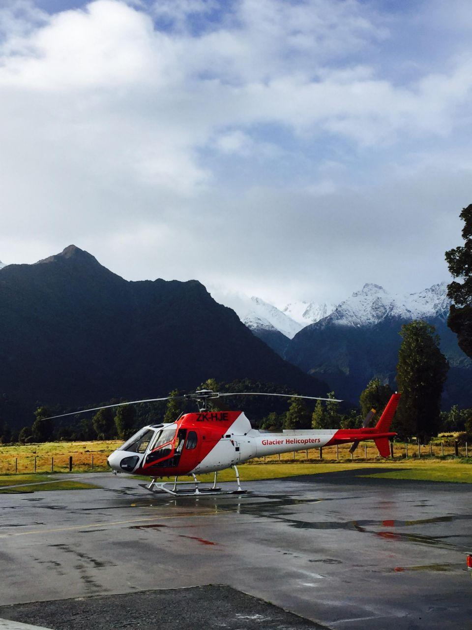 Nature seekers rejoice: choppers can take you out onto Fox Glacier for an up-close look. Photo: be