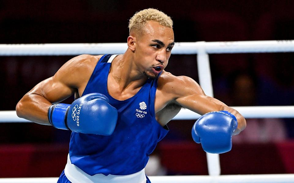 From hiding in JD Sports and Wolves toilets to boxing for gold - GETTY IMAGES
