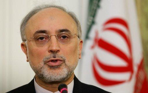 Iranian Foreign Minister Ali Akbar Salehi, seen here in February 2012, has called on the West to look to lifting its sanctions if it wants to quickly resolve the showdown over Tehran's disputed nuclear activities, and hinted it could make concessions on uranium enrichment in return